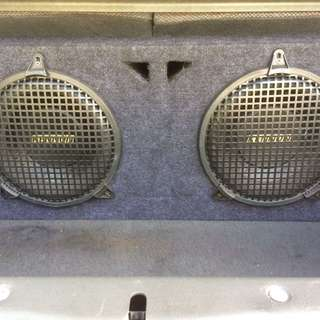 10 inch X 2 pecs Kenon Woofers with box for sell