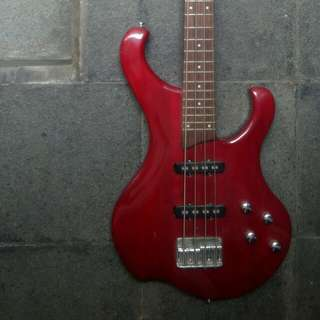 Guitar Bass Rockwell Metallic Red Korea