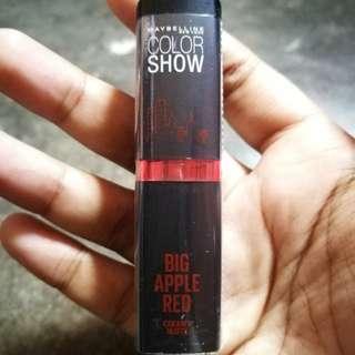 Colorshow code Red Liberation (209) Creamy Matte lipstick #CNY88