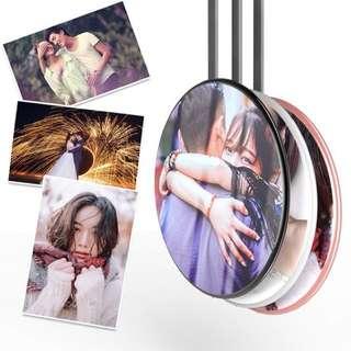 DIY 相片 無線充電座 情人節禮物 生日禮物 結婚禮物 週年 紀念日 抽獎 公司