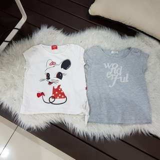 Girl's Shirts (size:9)