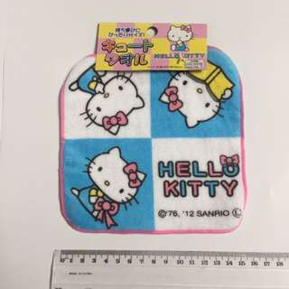 Hello Kitty Blue Hand Towel