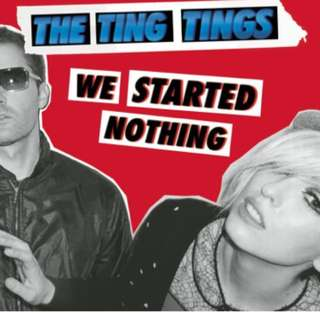 Ting Tings - We started nothing (limited red vinyl)