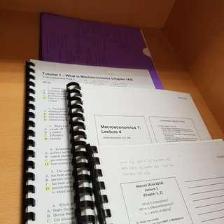 Rmit ECON1025 MACROECONOMICS notes