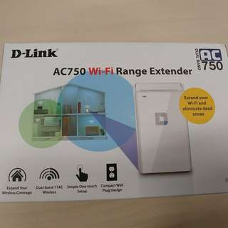 Wifi Range Extender AC750 D-Link