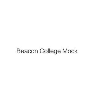 2018 Beacon Mock