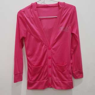 Jacket pink mangoes
