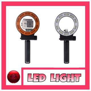 LED LIGHT ACTION CAMERA