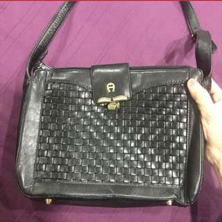 Authentic AIGNER messenger bag