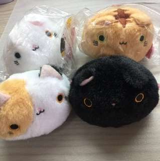Cute kawaii cat plushies for gifts