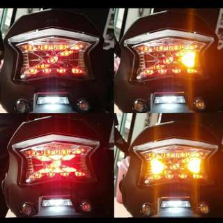 Kawasaki Z900 Integrated TAIL LIGHT