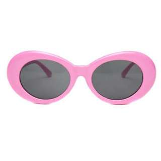 Pink Retro Clout Glasses