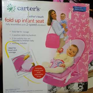 Carters Fold Up Infant Seat