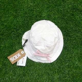 2 in 1 beach hat (topi pantai)