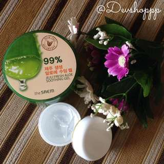 The Saem Jeju Fresh Aloe Vera Share In Jar 30ml & 15ml