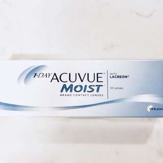 One day con - Acuvue Moist 隱形眼鏡