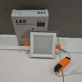 LED downlight, square