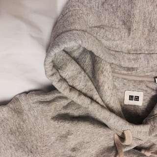 Uniqlo Grey Hoodie