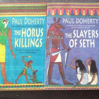 Paul Doherty Murder Mysteries