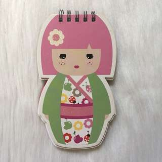 BN Japanese Doll Notebook