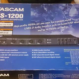 TASCAM US-1200 , 6-in audio interface
