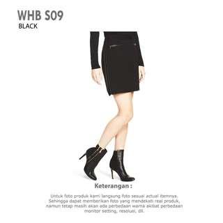 Women Ponte Mini Skirt