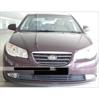 1 Week Contract Hyundai Avante $350
