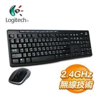 LOGITECH MK270R 無線鍵盤加滑鼠組合