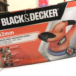 Car Polisher Black & Decker KP600