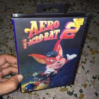 SEGA MEGADRIVE AERO THE ACRO-BAT 1