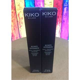 KIKO MILANO 30 DAYS EXTENSION - NIGHT TREATMENT BOOSTER