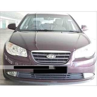 1 Week Contract Hyundai Avante $350