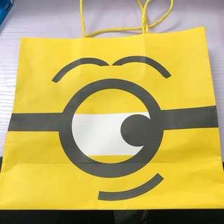 小黃人紙袋