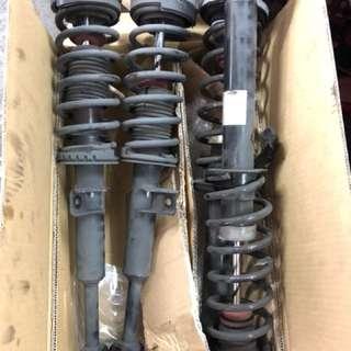 F10 BMW 5 series stock suspension!