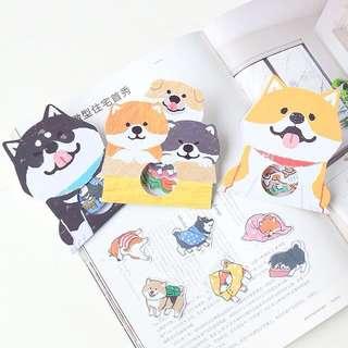 🇯🇵日本進口柴犬貼紙(一包30張)