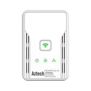 新加坡 Aztech 愛捷特 HL117EW HomePlug (家用電力線網路,電力網絡,300Mbps,WiFi,DualBand,AC2)