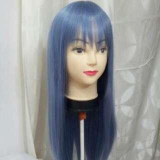 Blue Grey Wig