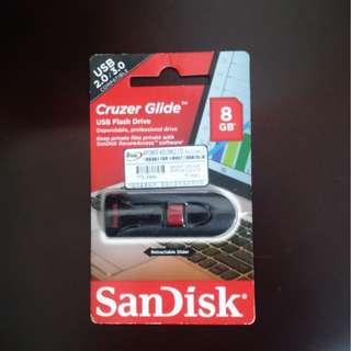 全新SCANDISK 8GB 手指