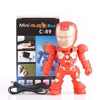 [INSTOCKS] Iron Man C-89 Mini Wireless Bluetooth Speaker