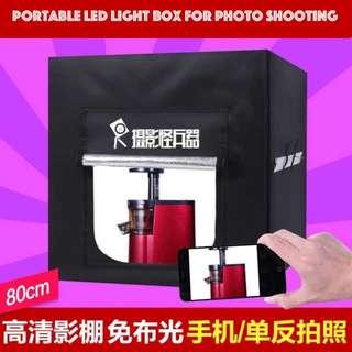 New Portable Mini Photo Studio Light Box with 126 pcs LED Lamp