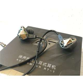 💎Auglamour RT-1 In-Ear Dual Driver Monitors