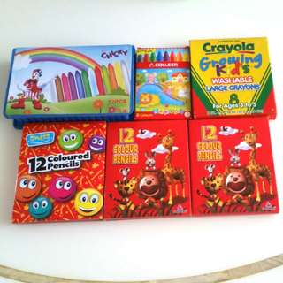 Crayons & Colour Pencils