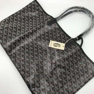 Goyard St Louis Tote Bag Black