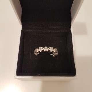 Pandora Ring star 50size love