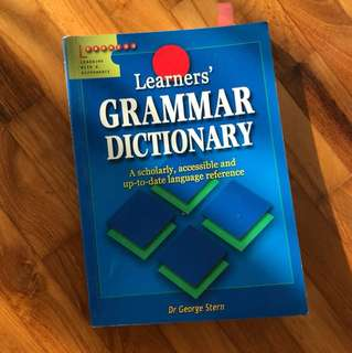 Learners' Grammar Dictionary