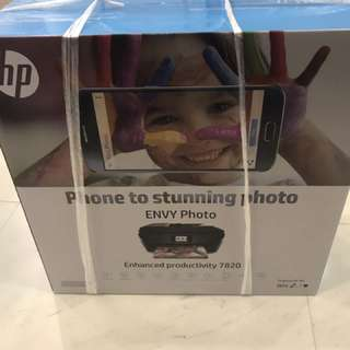 Brand New Printer HP ENVY7820 all in one