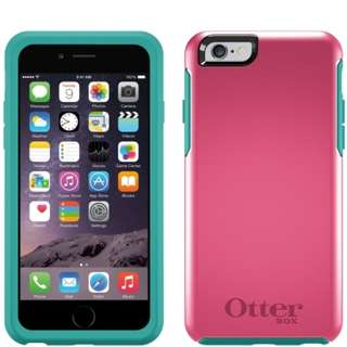 OtterBox Symmetry iPhone 6/6s Case: (Teal Rose)