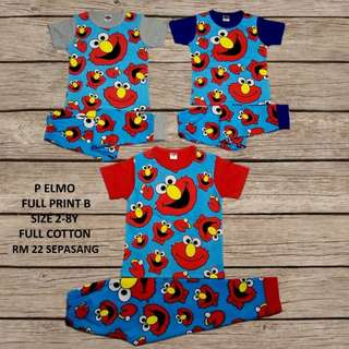 Set Elmo Pyjamas