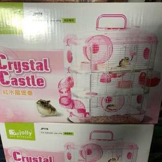 Jolly Crystal castle 3 storey