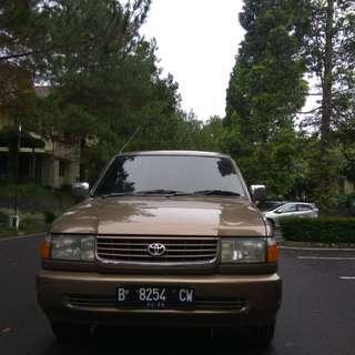 Toyota Kijang Kapsul LGX  Bensin A/T  1999  COKLAT ISTIMEWA